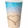 Beach Love 12 oz Cups