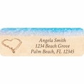 Beach Love Bridal Shower Custom Address Labels