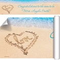 Beach Love Bridal Shower Custom Banner