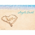 Beach Love Bridal Shower Custom Thank You Note