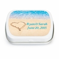 Beach Love Custom Wedding Mint Tins