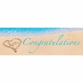Beach Love Wedding & Bridal Shower Banner