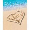 Beach Love Wedding & Bridal Invitations