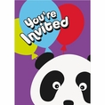 Birthday Panda Invitations