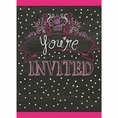 Birthday Sweets Invitations