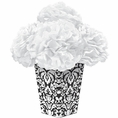 Black & White Flower Centerpiece