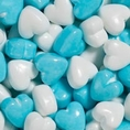 Blue and White Cupid Hearts