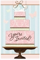 Blushing Bride Wedding & Bridal Shower Invitations