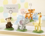 Born to be Wild Animal Placecard Holders (Set of 4 Assorted)