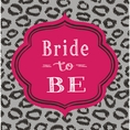 Bridal Shower Bash Napkins