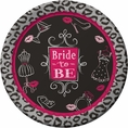 Bridal Shower Bash Plates