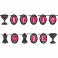Bridal Shower Bash Ribbon Party Banner
