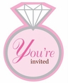 Bride 2 Be Dots Invitations