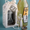 Brilliantly Packaged Cross Bottle Openers