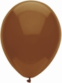 Chestnut Brown Latex Balloons - 15 ct