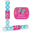 Butterfly Sparkle Custom Candy Tubes