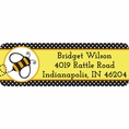 Buzz Babee Baby Shower Custom Address Labels