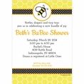 Buzz Babee Baby Shower Custom Invitation