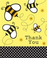 Bumble Bee Thank You Notes