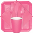 Candy Pink Party Tableware