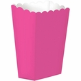 Candy Pink Popcorn Boxes