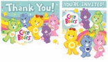 Care Bears Happy Day Invitation and Thank You Combo