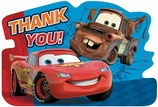 Cars 2 Postcard Thank You