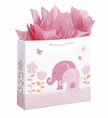 Carter's New Blossom Elephant Embellished Gift Bag