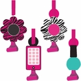 Pink Zebra Boutique Party Blowers