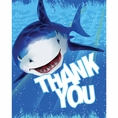 Shark Splash Thank You Cards