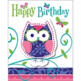 Owl Pal Birthday Invitations