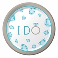 Celebrate Diamonds Shower Dessert Plates