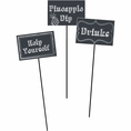 Chalkboard DIY Centerpiece Sticks