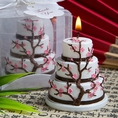 Cherry Blossom Cake Candle