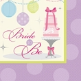 Chic Bride To Be Drink Napkins