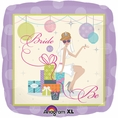 Chic Bride To Be Mylar Balloon
