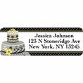 Chic Wedding Cake Bridal Shower Custom Address Labels