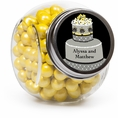 Chic Wedding Cake Custom Candy Jars
