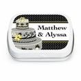 Chic Wedding Cake Custom Mint Tins