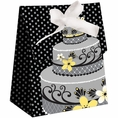 Chic Wedding Cake Favor Bags
