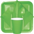 Citrus Green Party Tableware
