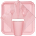 Classic Pink Party Tableware