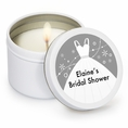 Classic Wedding Bridal Shower Custom Candles