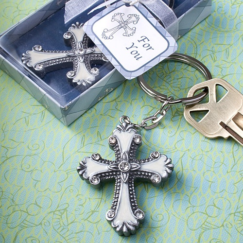 Cross Design Keychains