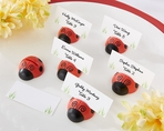 Cute as a Bug Ladybug Place Card/Photo Holder - Sets of 6