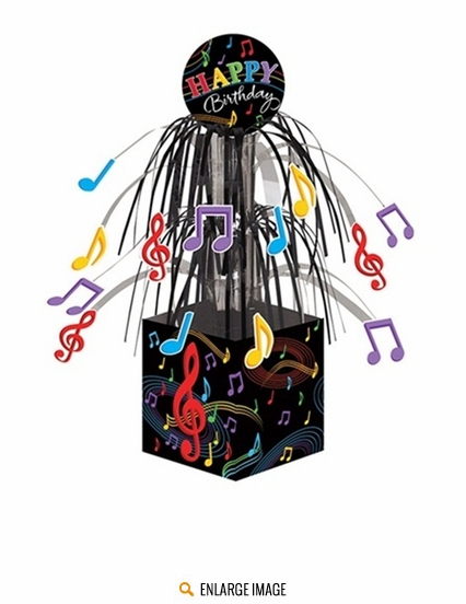 Dancing Music Notes Party Hats