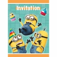 Despicable Me Invitations