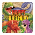 Dino Blast Happy Birthday Napkins