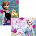 Disney Frozen Invitations and Thank Yous Combo