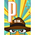 Disney Phineas and Ferb Agent P Invitations
